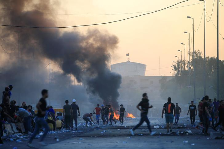 Iraq anti-govt protests: Death toll rises to 60, over 2,500 wounded