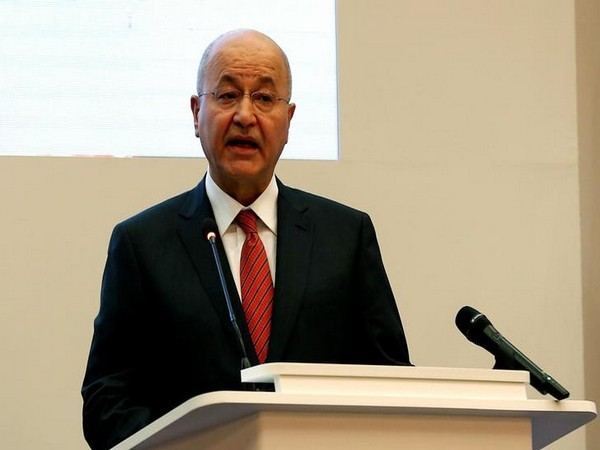 Iraqi President Barham Ahmed Salih (File photo)