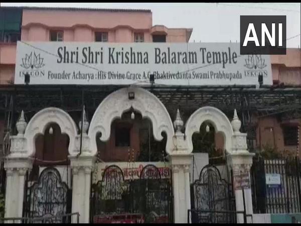 ISKCON Temple, Vrindavan. (Photo/ANI)