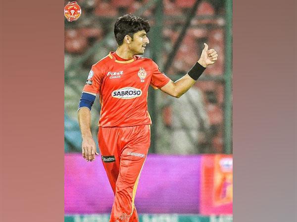Islamabad United cricketer Mohammad Wasim Jnr (Image: Islamabad United's Twitter)