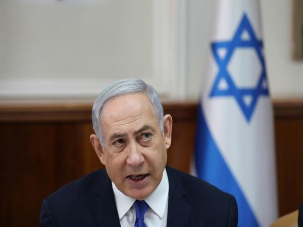 Israeli Prime Minister Benjamin Netanyahu speaking during a Cabinet meeting in Jerusalem on Sunday.
