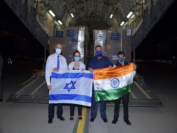 Third consignment of oxygen concentrators, respirators reaches India from Israel