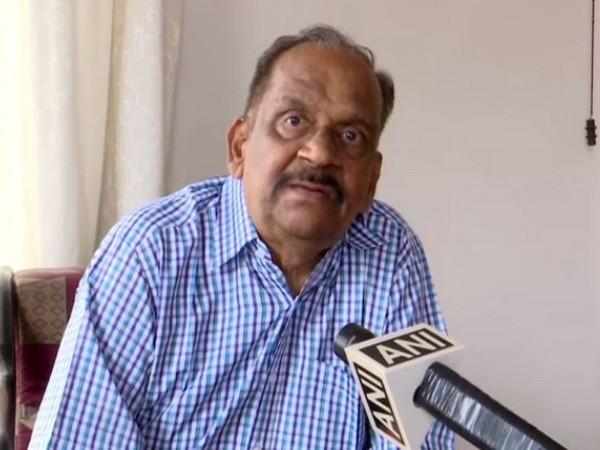 Former ISRO Scientist D Sasikumar speaking to ANI on Friday. (Photo/ANI)