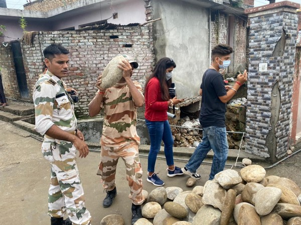 ITBP during a rescue operation in Jammu