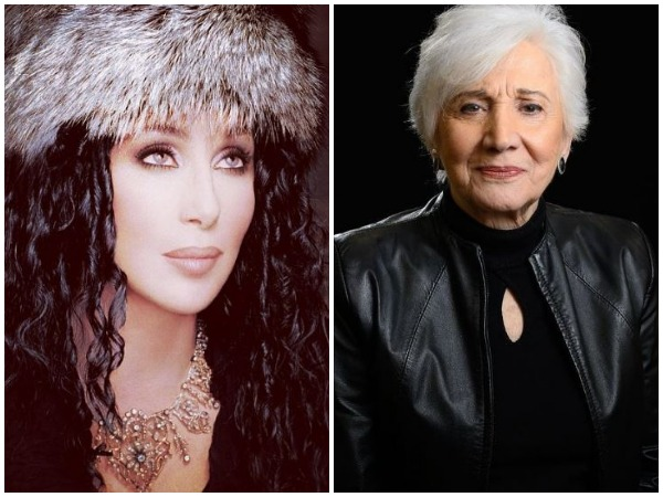 Cher and Olympia Dukakis (Image courtesy: Instagram)
