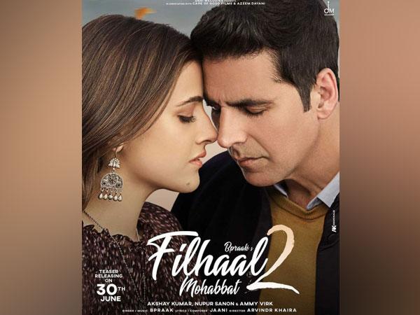 New Poster of 'Filhaal 2- Mohabbat' (Image source: Instagram)