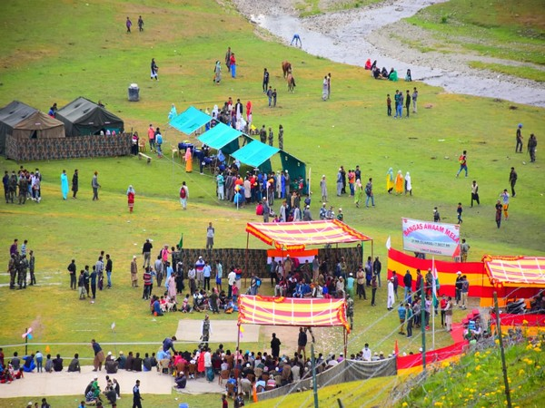 A visual from the Bangas Awaam Mela in Handwara, Jammu and Kashmir