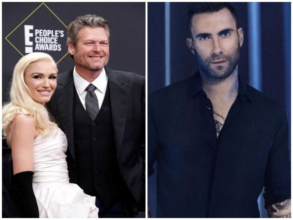 Gwen Stefani, Blake Shelton and Adam Levine (Image courtesy: Instagram)