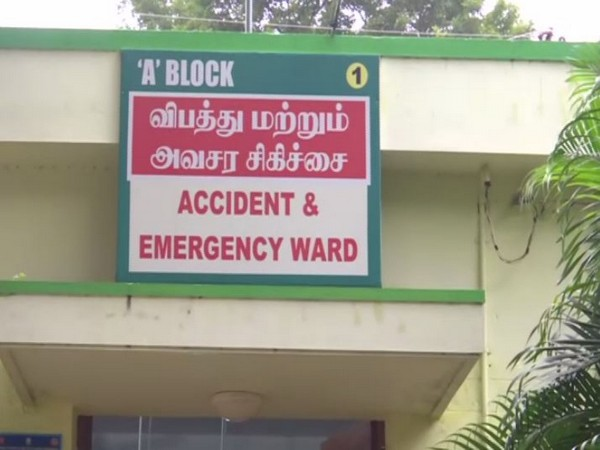Injured have been admitted to a hospital.