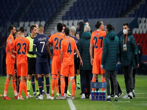 Basaksehir-PSG UCL clash was postponed after claims of racial abuse by official. (Photo/ PSG Twitter)