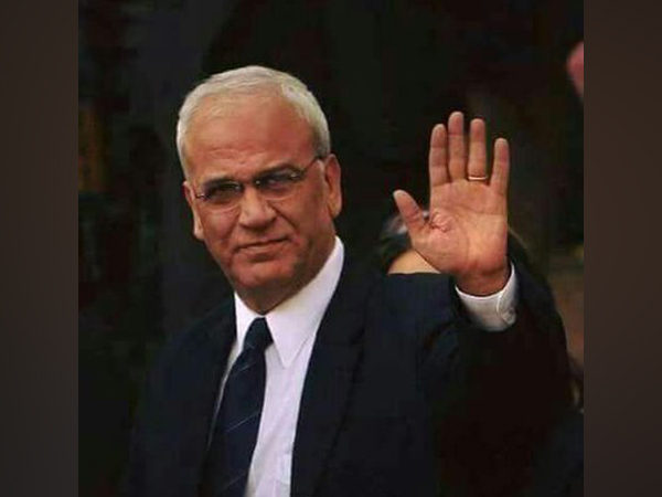 Saeb Erekat, the veteran Palestinian peace negotiator