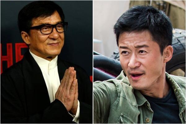 Jackie Chan and Wu Jing