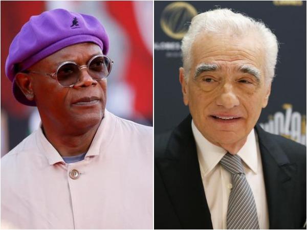 Samuel L. Jackson and Martin Scorsese