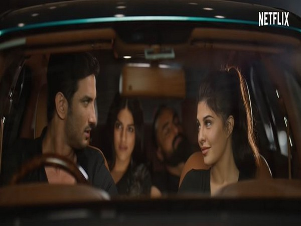 Sushant Singh Rajput and Jacqueline Fernandez in the trailer