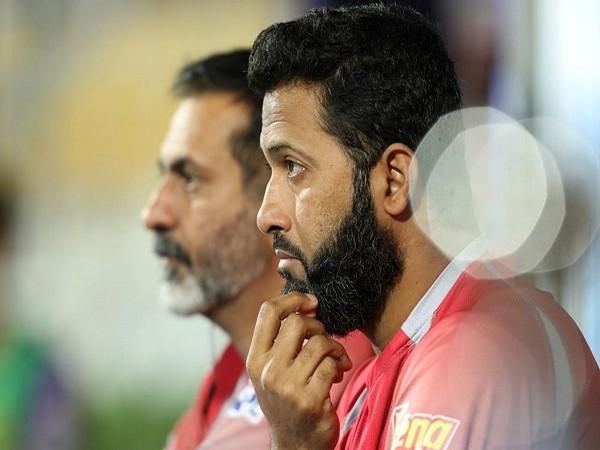 Kings XI Punjab (KXIP) batting coach Wasim Jaffer (Image: BCCI/IPL)