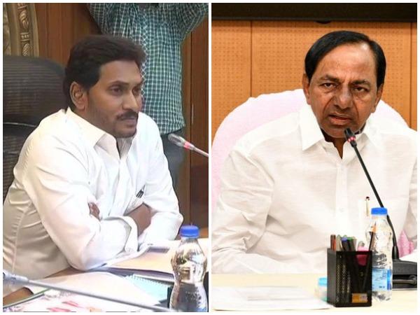Chief Ministers of Andhra Pradesh and Telangana, YS Jagan Mohan Reddy and K Chandrashekar Rao and  (File photo)