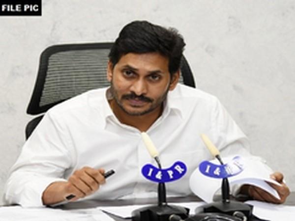 Andhra Pradesh Chief Minister YC Jagan Mohan Reddy(Photo/ANI)