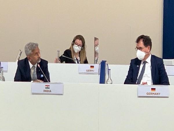 External Affairs Minister (EAM) S Jaishankar at the G20 summit in Matera, Italy. (Photo Credit: EAM Jaishankar Twitter)