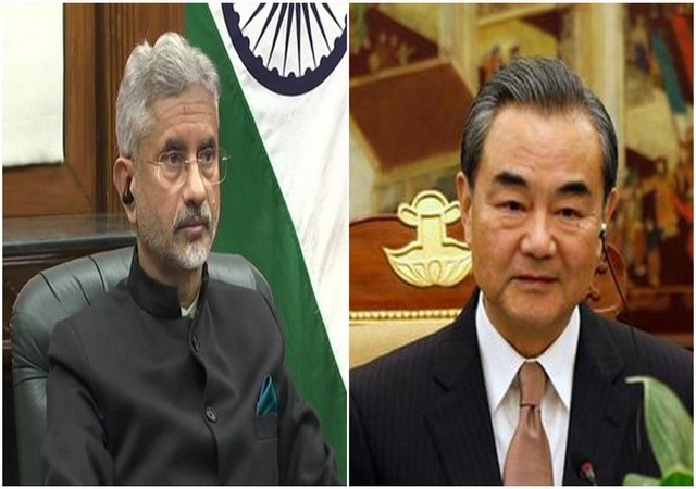 External Affairs Minister S Jaishankar and Chinese foreign minister Wang YI