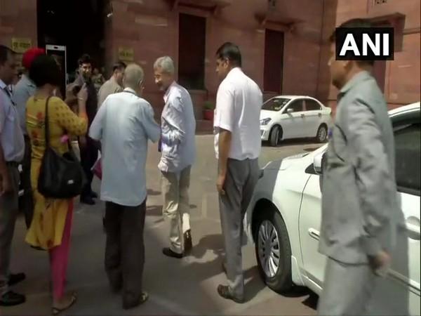 EAM S Jaishankar arrived at MHA to meet Shah on Tuesday