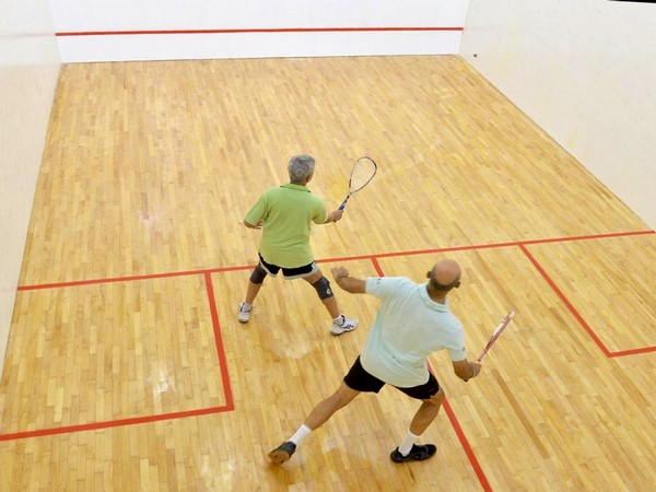 External Affairs Minister S Jaishankar shares picture of him playing Squash on Sunday.