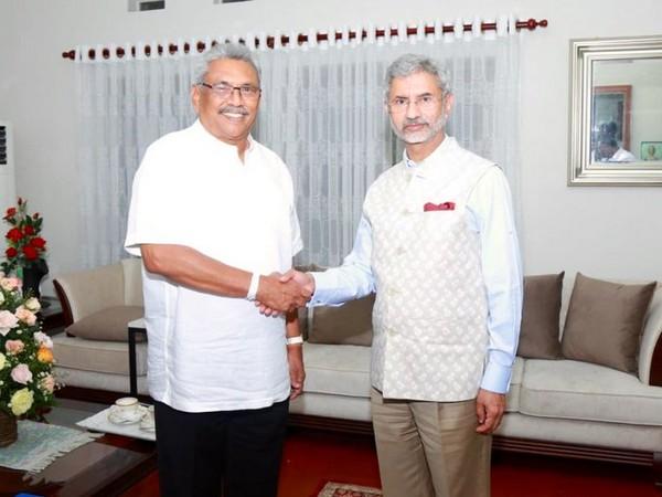 Jaishankar met Sri Lankan President Gotabaya Rajapaksa on Tuesday