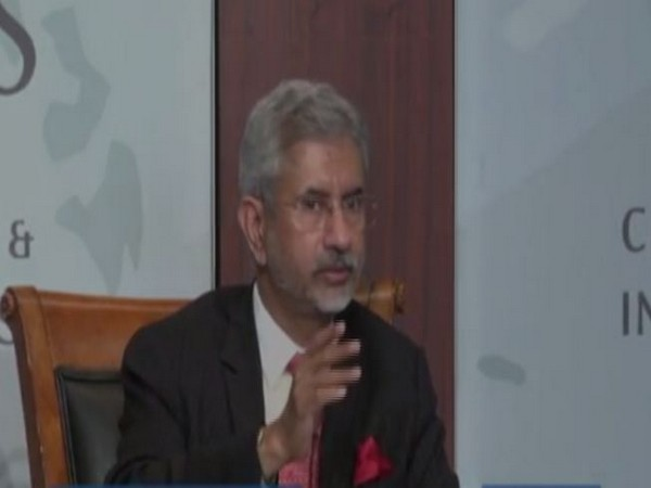 External Affairs Minister S Jaishankar speaking at the Centre for Strategic and International Studies (CSIS), a Washington-based think tank on Tuesday.