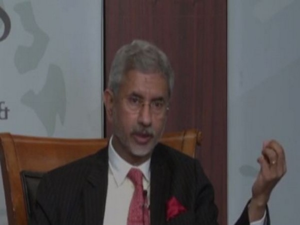 External Affairs Minister S Jaishankar speaking at the Center for Strategic and International Studies think tank on Tuesday.
