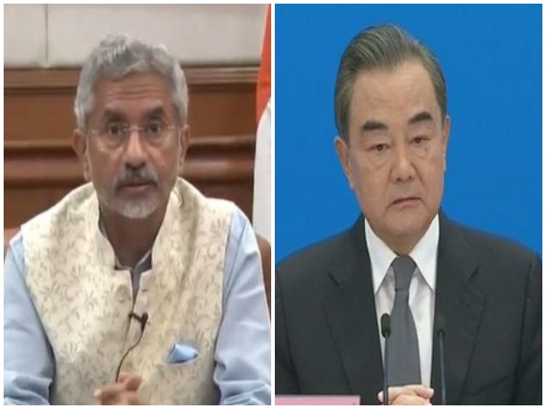External Affairs Minister S Jaishankar (L) and Chinese Foreign Minister Wang Yi (R) (File photo)