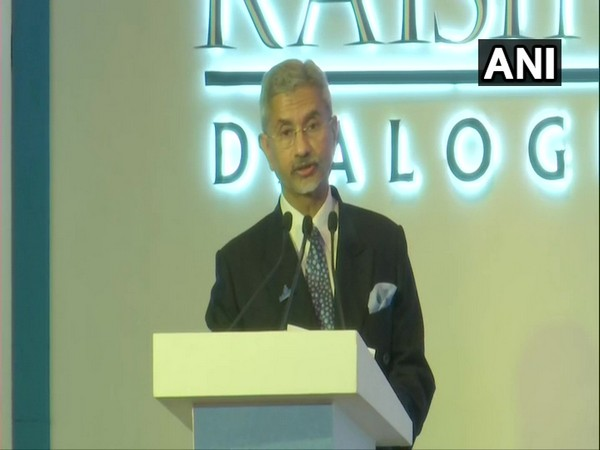 External Affairs Minister S Jaishankar speaking at the inaugural session of the Raisina Dialogue 2020 here on Tuesday