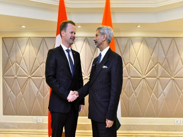 S Jaishankar met Denmark Foreign Minister Peter Szijjarto on Raisina Dialogue sidelines in New Delhi on Thursday