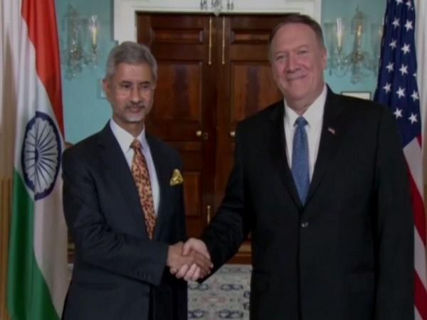 External Affairs Minister S Jaishankar and US Secretary of State Michel Pompeo.