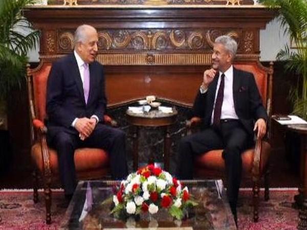 EAM Jaishankar met US peace envoy Zalmay Khalilzad on Tuesday