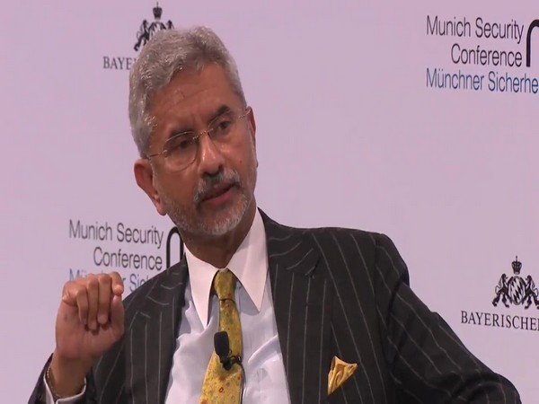 External Affairs Minister S Jaishankar speaking during a panel discussion at the Munich Security Conference in Germany on Friday.