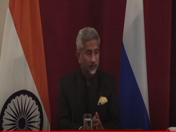 External Affairs Minister (EAM) Dr S Jaishankar addressing on
