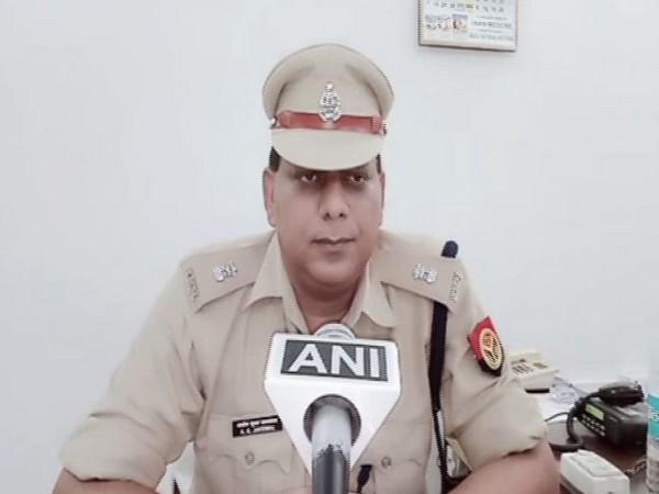 Additional Superintendent of Police of Sambhal AK Jaiswal speaking to ANI on Tuesday. Photo/ANI