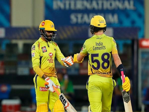 CSK's Ravindra Jadeja and Sam Curran (Photo: BCCI/ IPL)