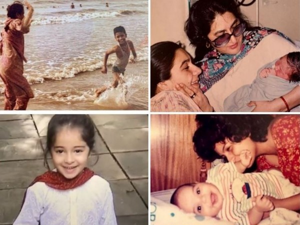 Pictures shared by celebs on Mother's day (Image courtesy: Instagram)