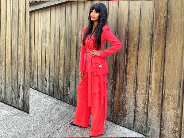 British actor-model Jameela Jamil