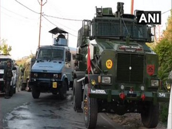 Visual from the encounter site in Budgam. [Photo/ANI]