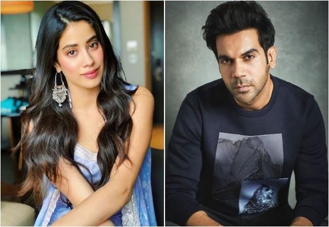 Jahnvi Kapoor and Rajkummar Rao, Image courtesy: Instagram