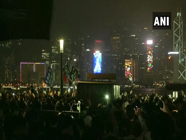 Visuals of  New Year celebrations from Tokyo.