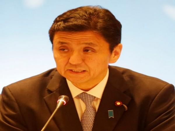 Japanese Defence Minister Nobuo Kishi
