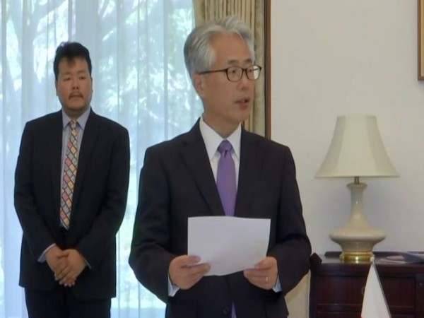 Japanese Ambassador to India Satoshi Suzuki in New Delhi on Monday. Photo/ANI