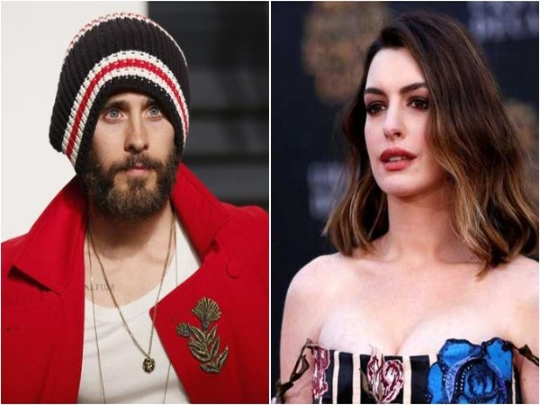 Actors Jared Leto and Anne Hathaway