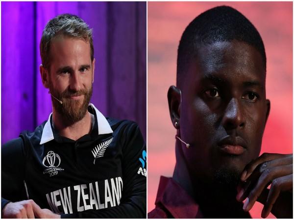 New Zealand captain Kane Williamson and West Indies captain Jason Holder (Photo/ICC)
