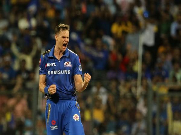 Fast bowler Jason Behrendorff (Photo/Mumbai Indians twitter)
