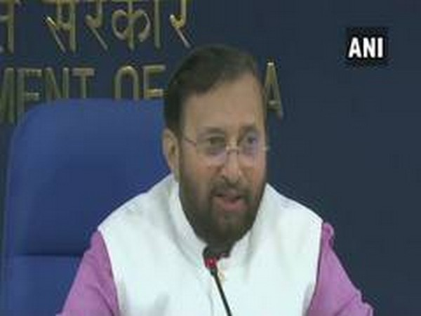 Information and Broadcasting Minister Prakash Javadekar briefing the media in New Delhi on Wednesday.
