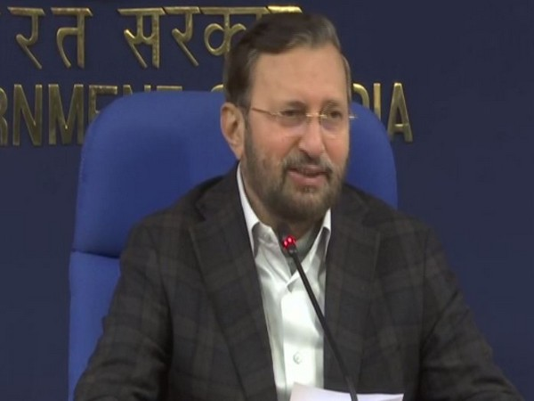 Union Minister Prakash Javadekar briefing media about Cabinet decisions in New Delhi on Wednesday