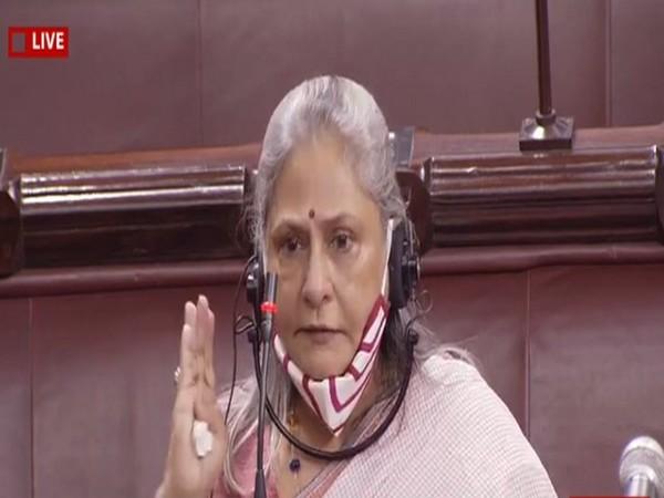 Veteran actor and MP Jaya Bachchan